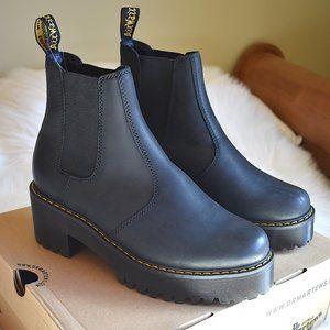 Dr. Martens | Rometty Leather Platform Shoes